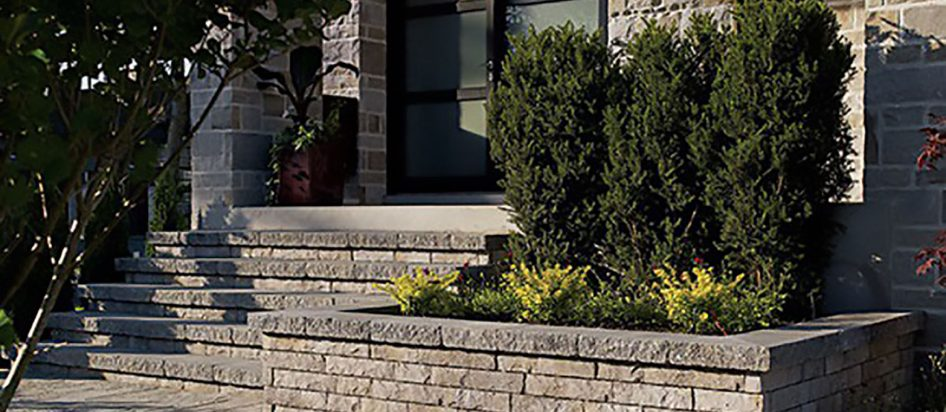 Murets, murs de soutien et bordures